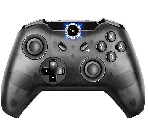 COOLEAD Wireless Pro Controller per Switch Console, Bluetooth Telecomandi Wireless Gamepad Controller per Switch Gaming e PC Windows Supporta Gyro Axis & Dual Shock Vibration & Screenshot