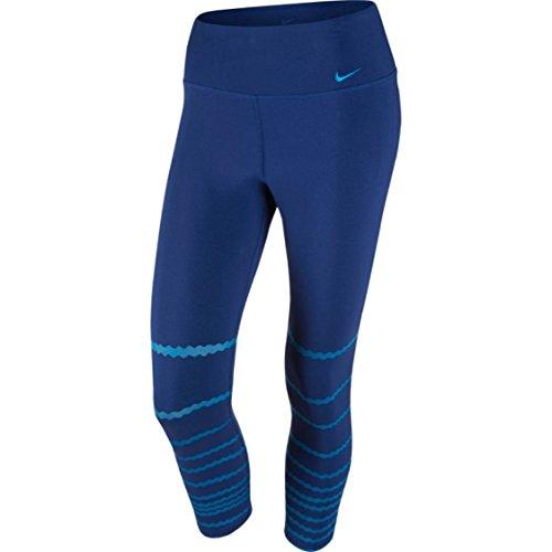 Nike Damen Legend Poly Burnout Tight Women Oberbekleidung, dunkelblau, S