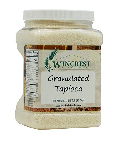Granulated Tapioca - 3 Lb Tub