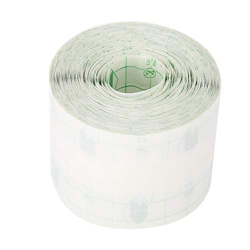 Wasserdichtes Pflaster Transparentes Pflaster Rolle Medizinisches Klebeband Wundverband Fixierer Pflaster Stretch Fixation Tape Tattoo Aftercare Bandage, 5cm * 10m