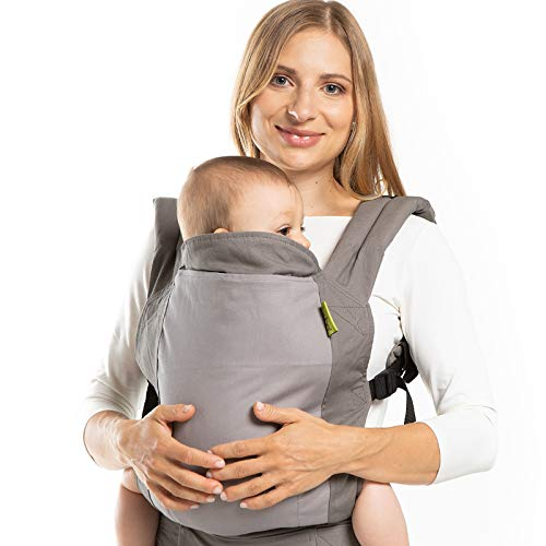 Boba Baby Carrier Classic 4GS - Backpack or Front Pack Baby Sling for 7 lb Infants and Toddlers up to 45 pounds (Classic 4GS - Dusk)