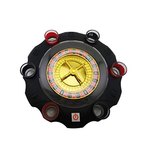 Russisches Roulette Trinkspiel Set Russian Roulette Drinking Game with Six Small Cups and Two Small Bowls