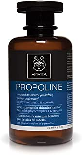 APIVITA PROPOLINE TONIC SHAMPOO FOR THINNING HAIR FOR MEN 8.5 FL. OZ. 250ML by Apivita