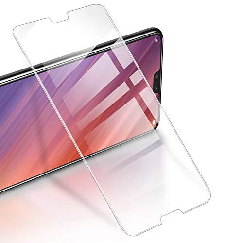 RIWNNI [3 Pezzi Vetro Temperato per Huawei P20 PRO, 9H Durezza Anti Graffio Pellicola Protettiva Ultra Sottile Alta Definizione Protezione Schermo Senza Bolle per Huawei P20 PRO - Trasparente