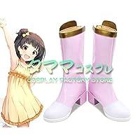 中谷育 なかたに いく コスプレ 靴 ブーツ コスプレ靴 cosplay オーダーサイズ/スタイル 製作可能 【タママ】(23cm)