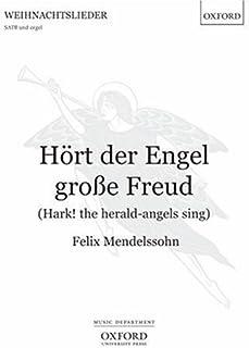 Hoert der Engel grosse Freud (Hark! the herald-angels sing): Vocal score