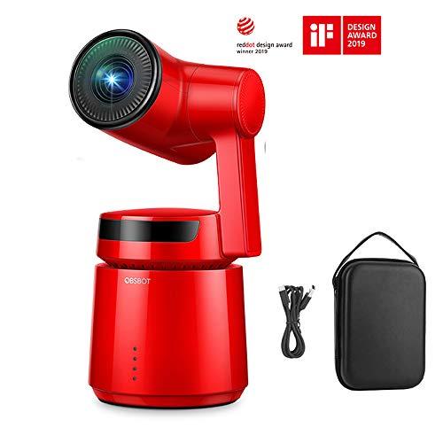 OBSBOT Tail AIカメラ スマートカメラ オート演出 自撮りvlog 4K 60fps UHDビデオ 三軸ジンバル内蔵 ジェス...