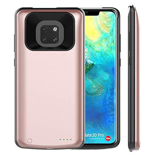 Cargadores Portátiles Huawei Mate 20 Pro, 6800mAh Powerbank Batería Externa Recargable Inalámbrica Android Compatible Batería Extendido Versión Nueva (Rosa)