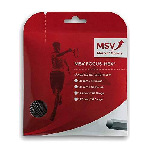 MSV Focus Hex 12m Negro Tenis Cordaje