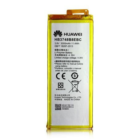 Huawei - HB3748B8EBC - Lithium Ionen Polymer Akku - Ascend G7 - 3100mAh (HB3748B8EBC)