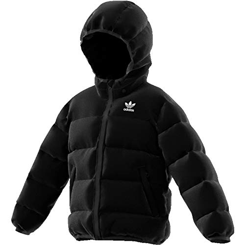 adidas Kinder Originals Jacke,  Black/White Reflective, 122 (S)