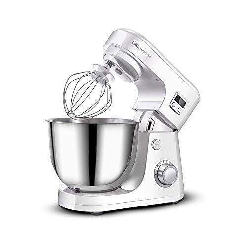 LKNJLL Stand Mixer,4.5-QT 800W 8-Speed Tilt-Head Food Mixer, Kitchen Electric Mixer with Dough Hook, Wire Whip & Beater