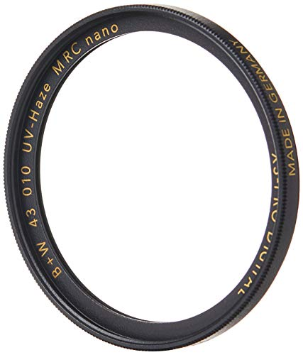 B+W XS-Pro Digital 010 - Filtro UV de 43 mm MRC Nano