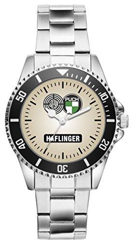 KIESENBERG Uhr - Geschenk für Steyr Puch Haflinger Oldtimer Fans Fahrer 1158