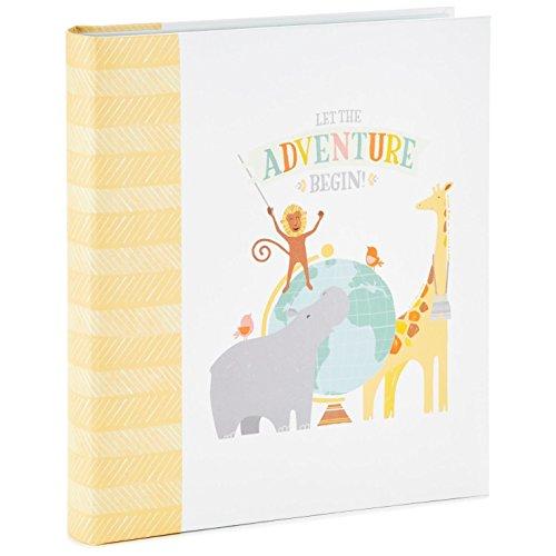 Hallmark Let The Adventure Begin Baby Memory Book Photo Albums