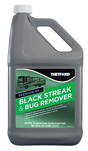 Thetford Premium RV Black Streak and Bug Remover - Black Streak Cleaner for RVs/Boats/Cars/Trucks/Vans/Motorcycles - 1 Gallon 32511