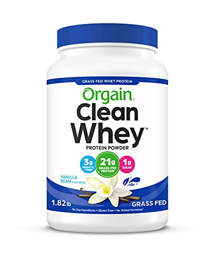 Image of Orgain Grass Fed Clean Whey...: Bestviewsreviews
