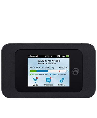 ZTE Velocity 2 (2nd Gen) 4G LTE Mobile WiFi Hotspot GSM Unlocked - Black (Renewed)