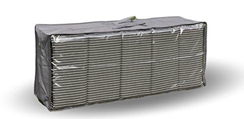 Urban Design Auflagentasche Auflagen-Box Kissenbox Schutztasche für Sitzpolster Tasche für Gartenmöbelauflagen Kissen