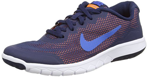 NIKE Flex Experience 5 Print Kids Running Shoes - Stealth