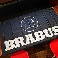 ブラバス フラッグ ベンツ 旗 世田谷ベース メルセデス ロゴ AMG 特大 メルセデスベンツ ガレージ装飾