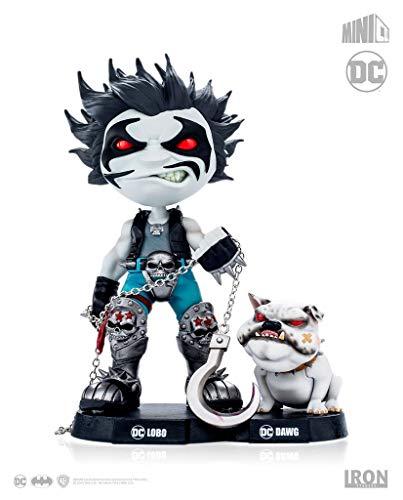 Lobo And Dawg - Dc Comics - Mini Co Iron Studios