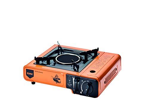 Cocina a gas portátil Outer Advance- Camping gas ELMA- NO ES DUAL-(Naranja) 27.15.2