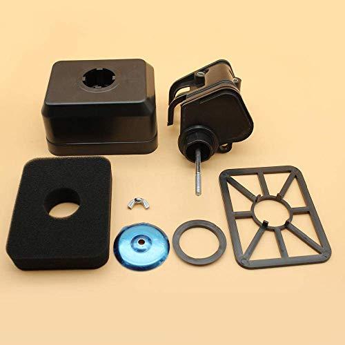 Conjunto de Cubierta de Carcasa de Filtro de Aire para Honda GX140 GX160 GX200 168F 196cc 163cc 5.5HP 6.5HP Motor Motor Generador Cortacésped