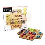 Marbles 6045064 - Otrio - Taktikspiel mit hochwertigem Holz-Spielmaterial (inkl. deutscher...