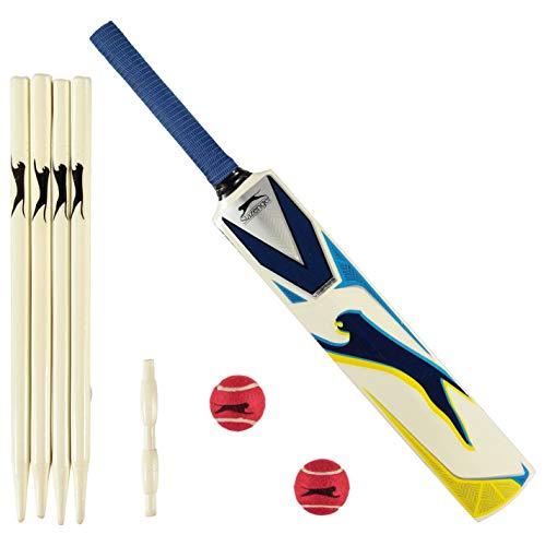 Slazenger Unisex V1000 Cricket-Set, Herren, 3