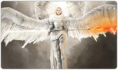 Inked Playmats Purifying Angel Playmat Inked Gaming TCG Game Mat for Cards
