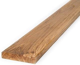 Tablones de terraza de madera de teca, de BioMaderas®;