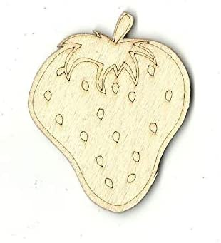 Strawberry - Laser Cut Out Unfinished Craft Max 55% OFF Wood Shape Deluxe DL Supply