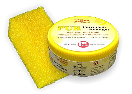 Reinigungs- und Polierstein Patina-PUR 300 (Dose, 300gr)