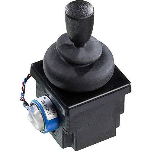 APEM Joystick 4R28-2H1E-55-360, 500 V/DC, hendel, recht, bekabelde uiteinden, IP65, 1 stuk