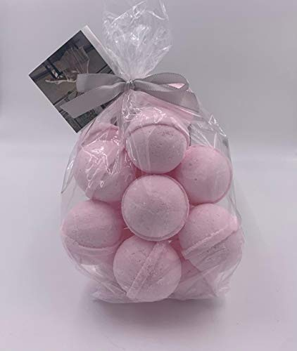 Spa Pure Amazing Grace Bath: 14 Amazing Grace Type (W) Bath Bomb Fizzies - Infused with Shea, Mango & Cocoa Butter - Ultra Moisturizing - Great for Dry Skin