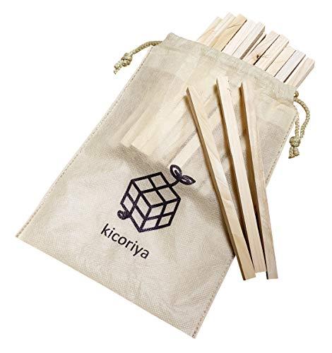 kicoriya フェザースティック 焚き付け材 薪 針葉樹 着火剤 焚き火 焚きつけ ヒノキ 檜 ひのき