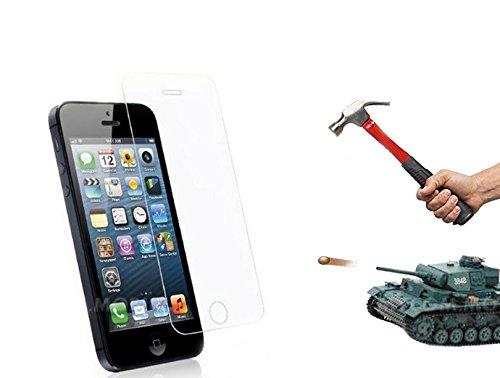 Vetro Temperato Schutzglas iPhone 44s Schutzglas SISTEMA A 4strati 9H Durezza 0,3mm