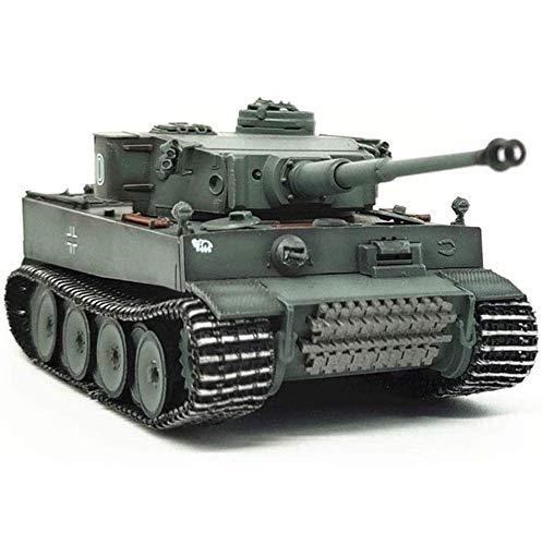 HYLL 1:72 Scale Diecast Tank Modelo de plástico, Panzerkampfwagen Vi Ausf E Tiger 100 Etapa temprana Alemania, Juguetes Militares y Regalos, 4.6 Pulgadas x 2 Pulgadas
