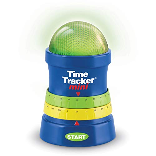 Learning Resources- Cronómetro Time Tracker Mini, Color (LER6909)
