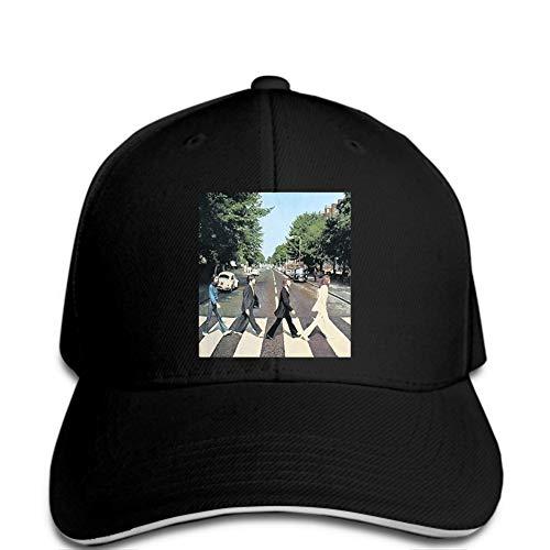 Casquette de Baseball Hommes Casquette de Baseball Mode été Hommes Abbey Road Cover Noir Casquette de Baseball