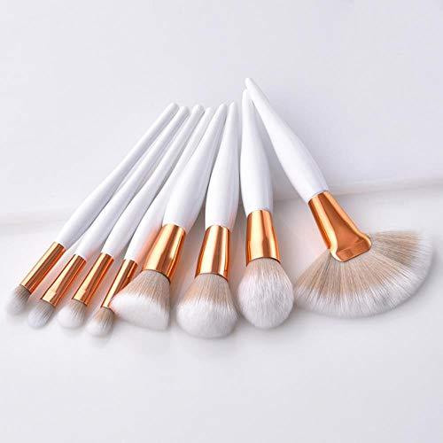 CUS Outils de Maquillage Professionnel Maquillage Pinceaux Set Foundation Poudre Blush Fard à paupières Eye Brow Brosse à Cils Cosmétiques Blending Brush, 02