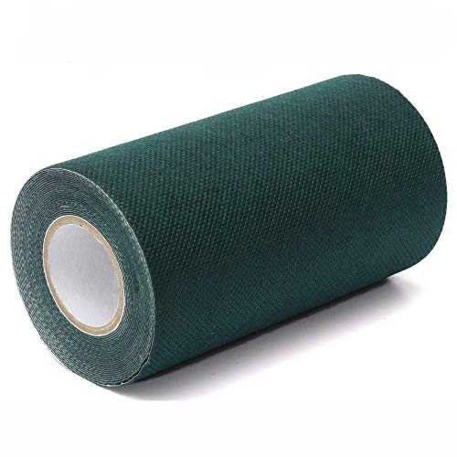 Cinta adhesiva para césped artificial, 5m x 15cm Cinta adhesiva para césped artificial césped césped alfombra cinta autoadhesiva para unir 2 piezas Césped sintético para césped