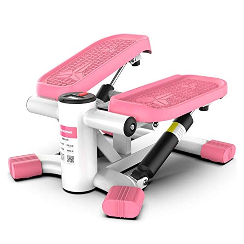 Oefening Trappen Stappen Thuis Draagbare Stand Up Stepper zonder Installatie LCD Monitor Comfortabele Voet Pedalen Verstelbare Weerstand Fitness Oefening Machine