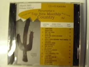 top hits monthly karaoke cdg