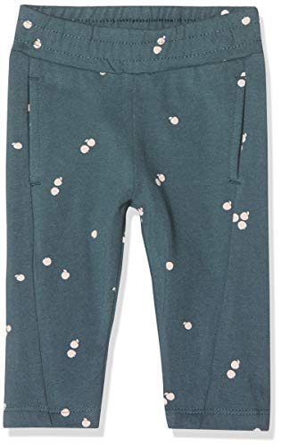 Imps & Elfs Pants Pantalon, Bleu (Orion Blue AOP Apples P350), 68 Bébé Fille