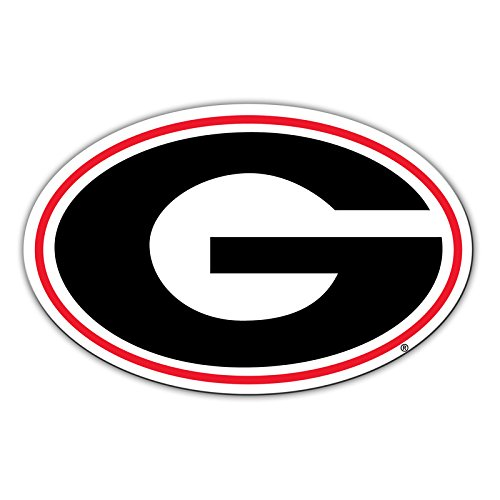 Boats Georgia Bulldogs Man Cave Fridge Official National Collegiate Athletic Association Fan Shop Authentic NCAA Team Magnet Banner Logo Magnet Approx 12 Diameter Great for Cars