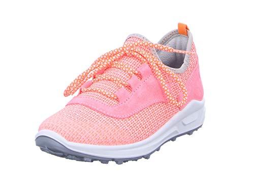 RICOSTA Mädchen Star Sneaker, Pink (Neoncoral 333), 33 EU