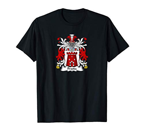 Fratta Coat of Arms - Family Crest Maglietta