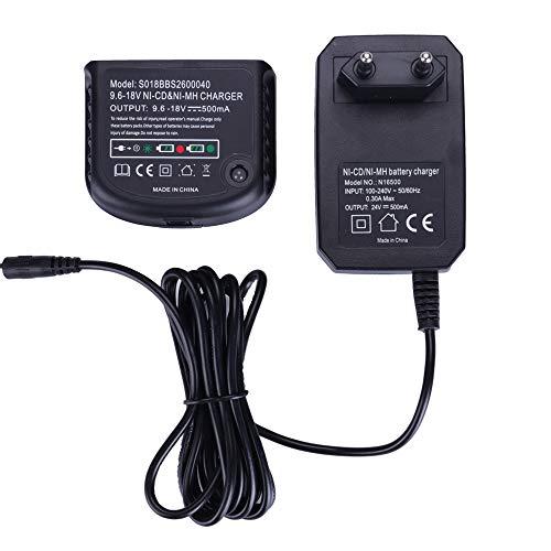 Cargador para Black & Decker Taladro 9.6V 12V 14.4V 18V Ni-MH/Ni-Cd HPB18-OPE HPB18 HPB14 HPB12 HPB96 Batteries